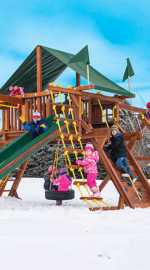 3 Tips for Winterizing your Wooden Play Set