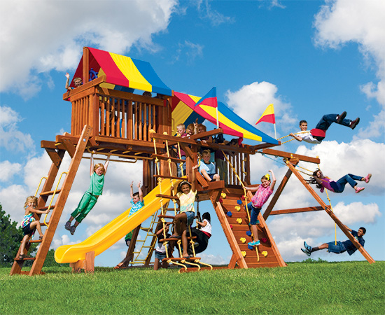 3 Healthy Ways an Outdoor Playset Can Improve Your Child's Life