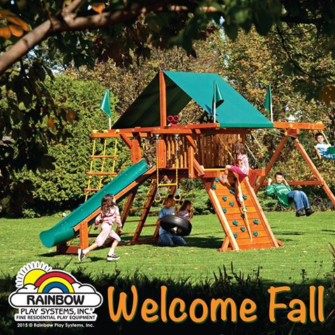 Spooky Good Swing Set and Trampoline deals!