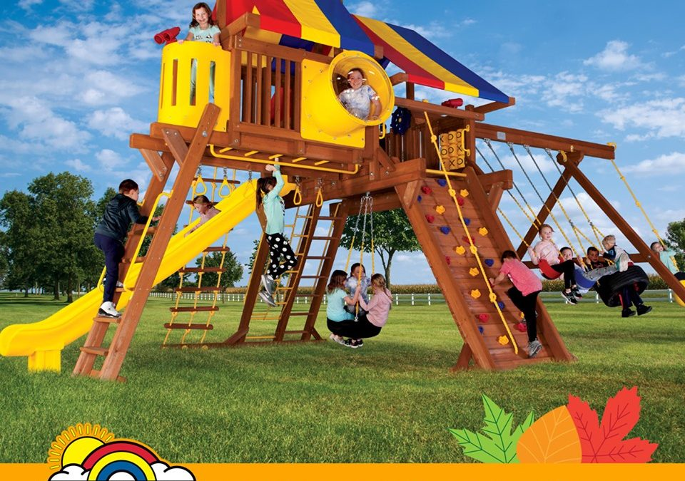 Top 3 Reasons to Choose a Wood Play Set Over Metal