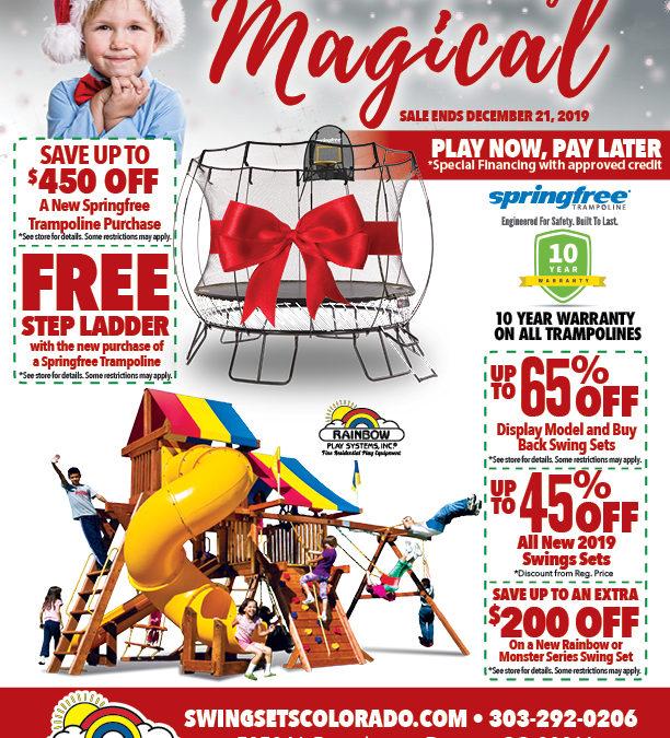 Rainbow's Holiday Sale STARTS NOW!